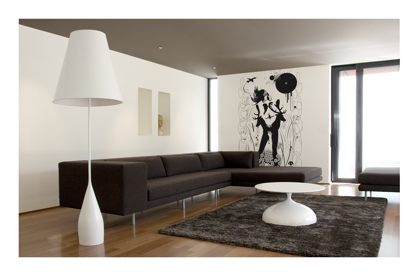 Ambiance Opus lampadaire White marzais