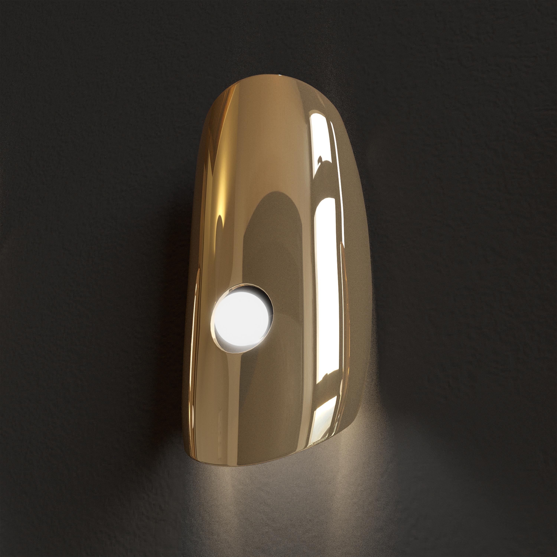 MARZAIS WALL LAMP EYE GOLD V2
